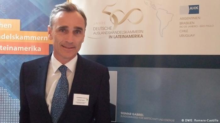 Johannes Hauser, director general de la Cámara Mexicano-Alemana de Comercio eIndustria.