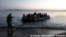 Griechenland Kos Bootsflüchtlinge Symbolbild Schlepper