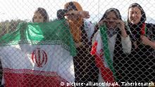 Iran Training der Nationalmannschaft Fußball - Frauen ausgeschlossen