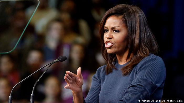 Michelle Obama (Picture-Alliance/AP Photo/J. Cole)
