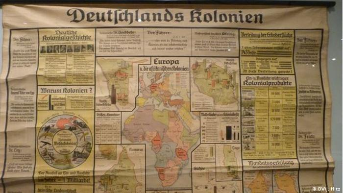 German colonialism exhibition in Deutschen Historischen Museum (DW/J. Hitz)