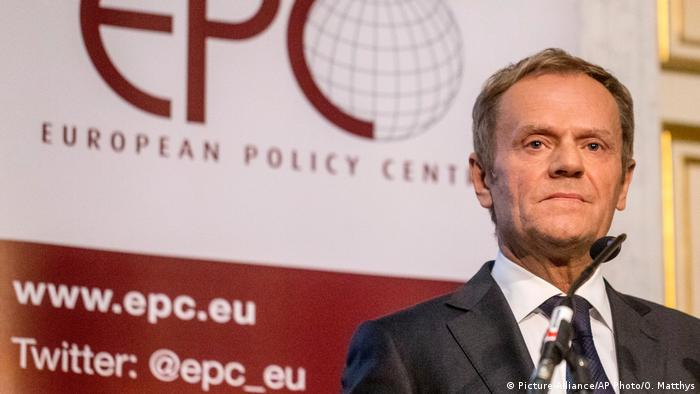 Donald Tusk (Picture-Alliance/AP Photo/O. Matthys)
