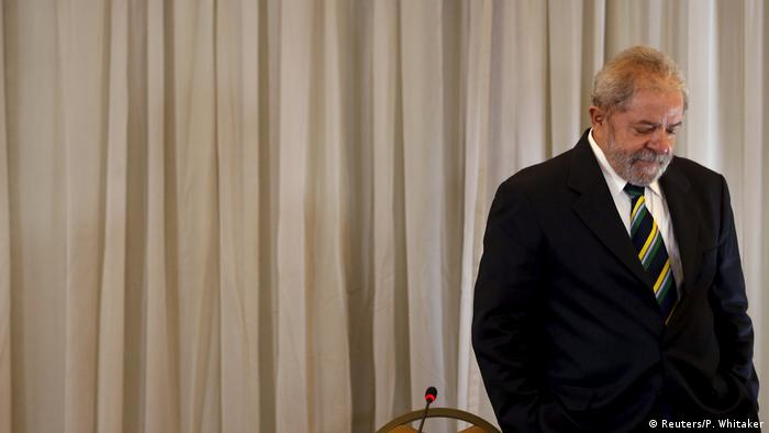 Brasilien Lula da Silva Ex-Präsident (Reuters/P. Whitaker)