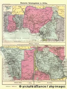 Dt. Kolonien in Afrika Landkarten 1902