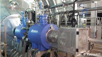Detektor am Katrin-Experiment KIT Karlsruhe