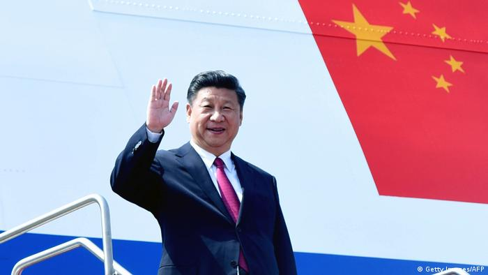 Bangladesch China Besuch Präsident Xi Jinping in Dhaka (Getty Images/AFP)