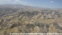 A view of the mountain scenery of Badakhshan province in northern East of Afghanistan, on July 29, 2016. (Photo by Mohammad Sharif Shayeq/NurPhoto)   Keine Weitergabe an Wiederverkäufer.