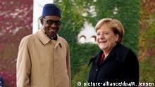 Deutschland Berlin - Merkel trifft auf Muhammadu Buhari im Bundeskanzleramt