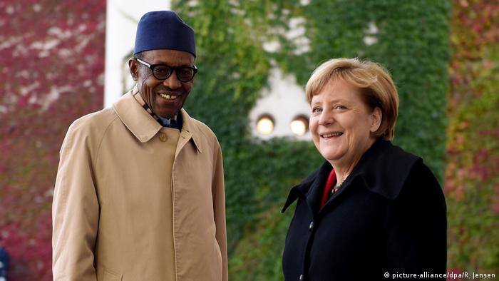 Presidente Muhammadu Buhari vai receber chanceler Angela Merkel na Nigéria