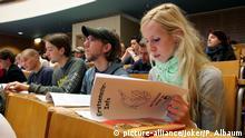 Deutschland Erstsemester-Einführung Biologie Uni Bonn