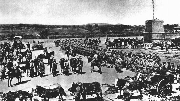 Namibia Aufstand der Herero in Südwestafrika (picture-alliance/dpa)