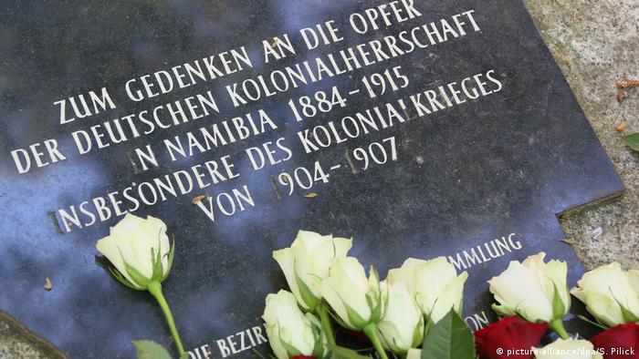 Deutschland Berlin - Gedenken für die Opfer der deutschen Kolonialherrschaft