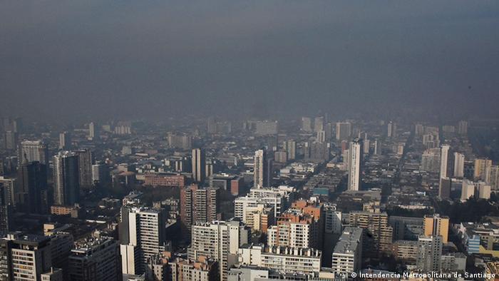 Santiago de Chile - Smog in Chiles Hauptstadt (Intendencia Metropolitana de Santiago)