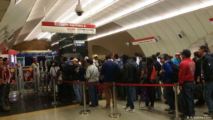 El metro de Santiago de Chile (A. Dannemann)