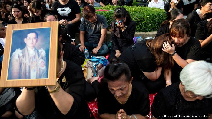 Thailand Bangkok - Beisetzung von König Bhumibol Adulyadej