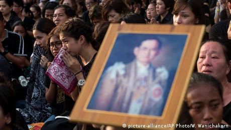 Thailand Bangkok - Beisetzung von König Bhumibol Adulyadej (picture-alliance/AP Photo/W. Wanichakorn)