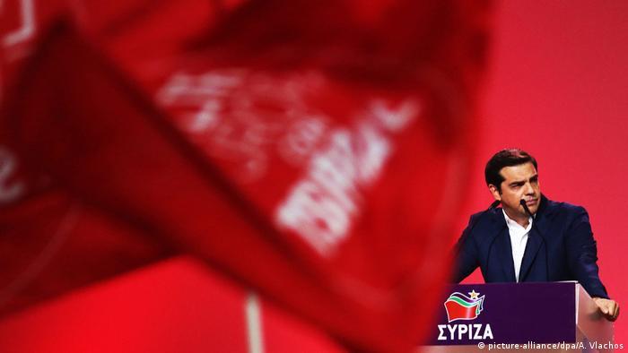 Griechenland Parteitag Syriza Alexis Tsipras