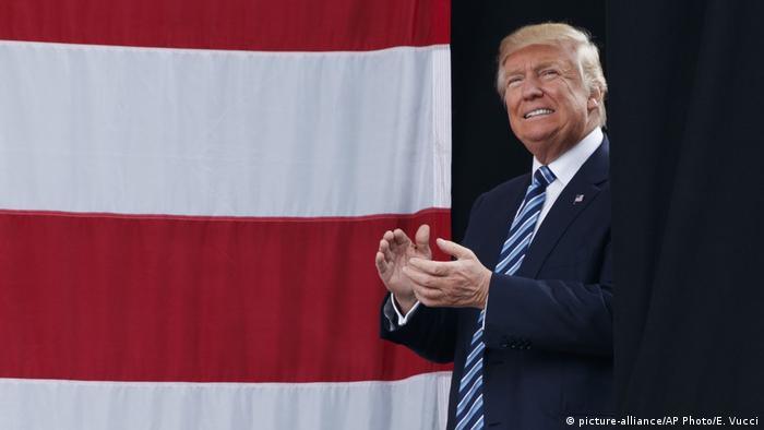 USA Trump in North Carolina (picture-alliance/AP Photo/E. Vucci)