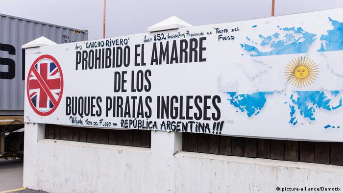 Falkland-Konflikt Argentinien Britannien (picture-alliance/Demotix)