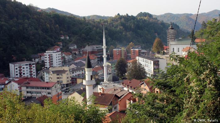 Panorama Srebrenice