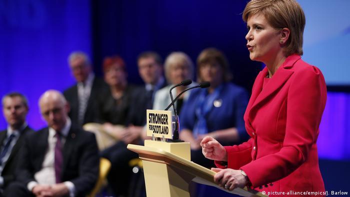 Schottland - SNP Konferenz (picture-alliance/empics/J. Barlow)