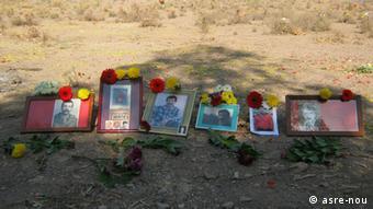 Iran - Zerstörung von Friedhöfen (asre-nou)