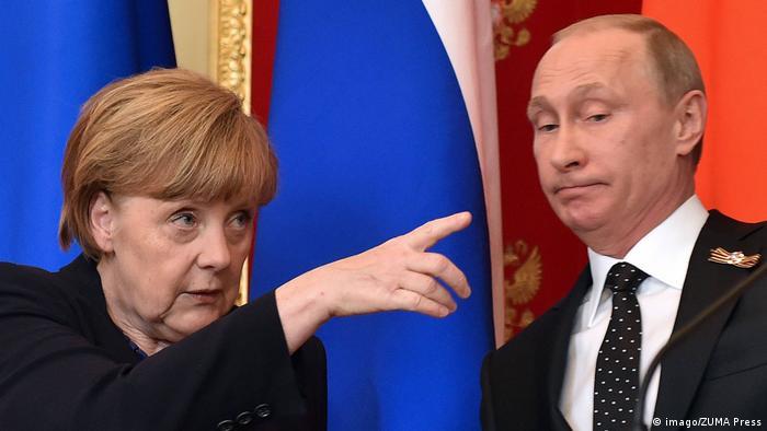 Меркель: О частичной отмене санкций против РФ говорить рано