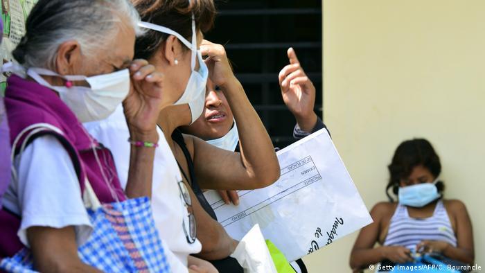 Peru Lima - Umweltverschmutzung Tuberkulose (Getty Images/AFP/C. Bouroncle)