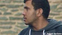 Deutschland ehemaliges Fahndungsfoto des Syrers Dschaber Al-Bakr