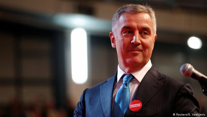 Montenegro Prime Minister Milo Djukanovic REUTERS/Stevo Vasiljevic