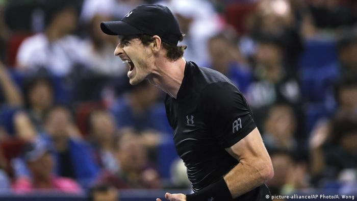 China Tennis Shanghai Masters Andy Murray (picture-alliance/AP Photo/A. Wong)