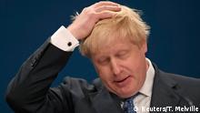 October 2, 2016*** Britain's Foreign Secretary Boris Johnson speaks at the annual Conservative Party Conference in Birmingham, Britain, October 2, 2016. REUTERS/Toby Melville