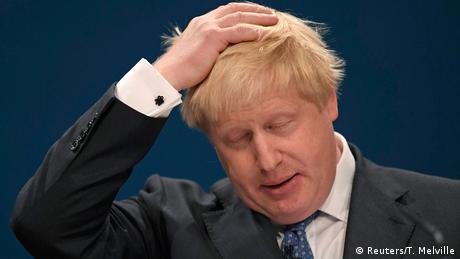 Großbritanien Pro-EU-Kolumne von Boris Johnson aufgetaucht (Reuters/T. Melville)