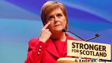 Schottland Nicola Sturgeon