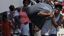 Einwohner von New Orleans flüchten vor Hurricane Gustav