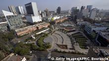 View of the commercial district of San Isidro, in Lima, Peru, on October 11, 2013. Lima was named host city of the 2019 Pan-American Games. AFP PHOTO/CRIS BOURONCLE (Photo credit should read CRIS BOURONCLE/AFP/Getty Images)