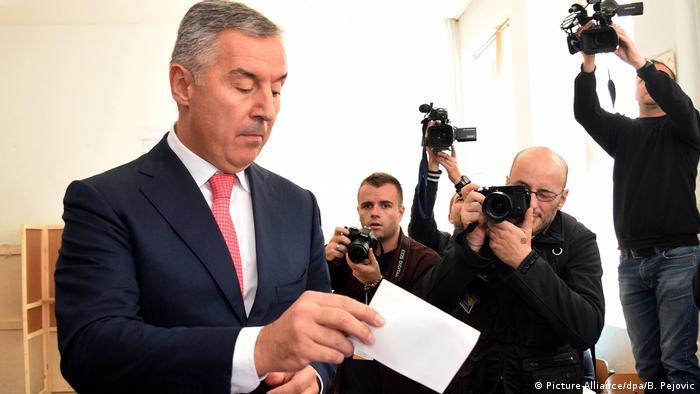 Montenegro Parlamentswahlen Milo Djukanovic
