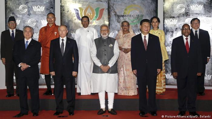 BRICS Gipfel Narendra Modi in Goa (Picture-Alliance/dpa/D. Solanki)