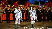 China Shenzhou 11 Astronaute China Shenzhou 11 Astronaute China Shenzhou 11 Astronaute