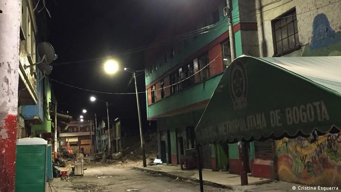 La zona de bogotá conocida como el Bronx (Cristina Esguerra)