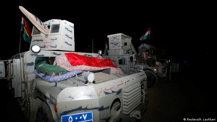 Irak Mossul Peschmerga bereiten Offensive auf IS vor (Reuters/A. Lashkari)