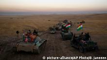 Irak Mossul Truppen der Peschmerga bereiten Offensive vor
