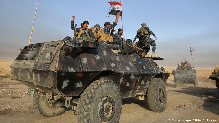 Irak Mossul Offensive der Regierungstruppen gegen IS (Getty Images/AFP/A. Al-Rubaye)