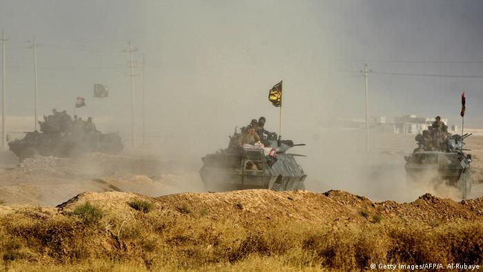 Irak Mossul Offensive der Regierungstrupen gegen IS (Getty Images/AFP/A. Al-Rubaye)