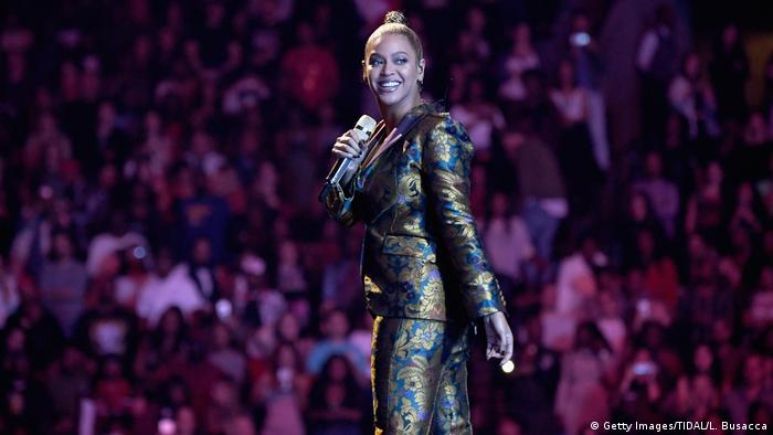 USA NYC Beyonce bei Benefiz-Konzert TIDAL X: 1015 - Show (Getty Images/TIDAL/L. Busacca)