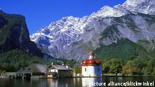Koenigssee and St Bartholomae, Germany, Bavaria, Berchtesgadener Land (picture alliance/blickwinkel)