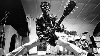 Chuck Berry 1970 in Stockholm (Foto: picture-alliance/Globe-ZUMA)