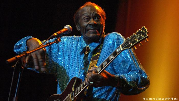Chuck Berry Konzert in der Schweiz (picture-alliance/AP Photo)