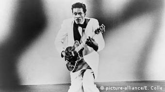 Chuck Berry 1957 (Foto: picture-alliance/E. Colle)