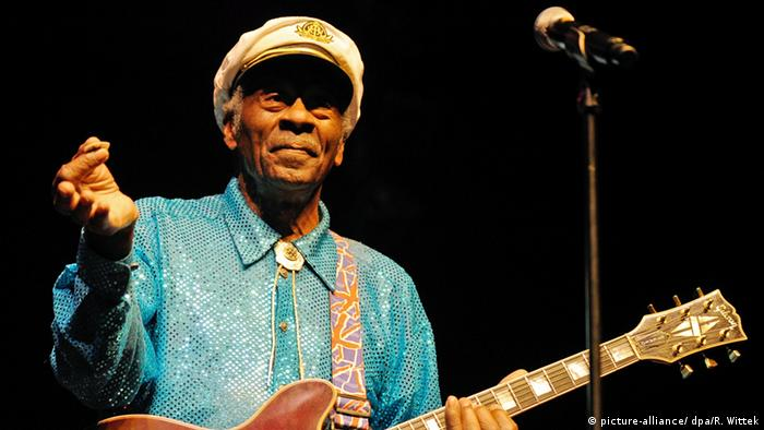 Rock-Legende Chuck Berry Auftritt in Mannheim (picture-alliance/ dpa/R. Wittek)